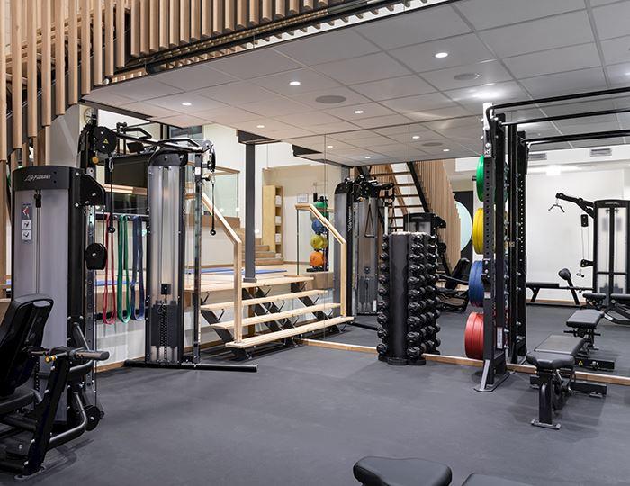 fitnessruimte amsterdam marriott hotel centrum