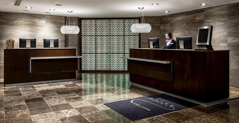 receptie amsterdam marriott hotel centrum