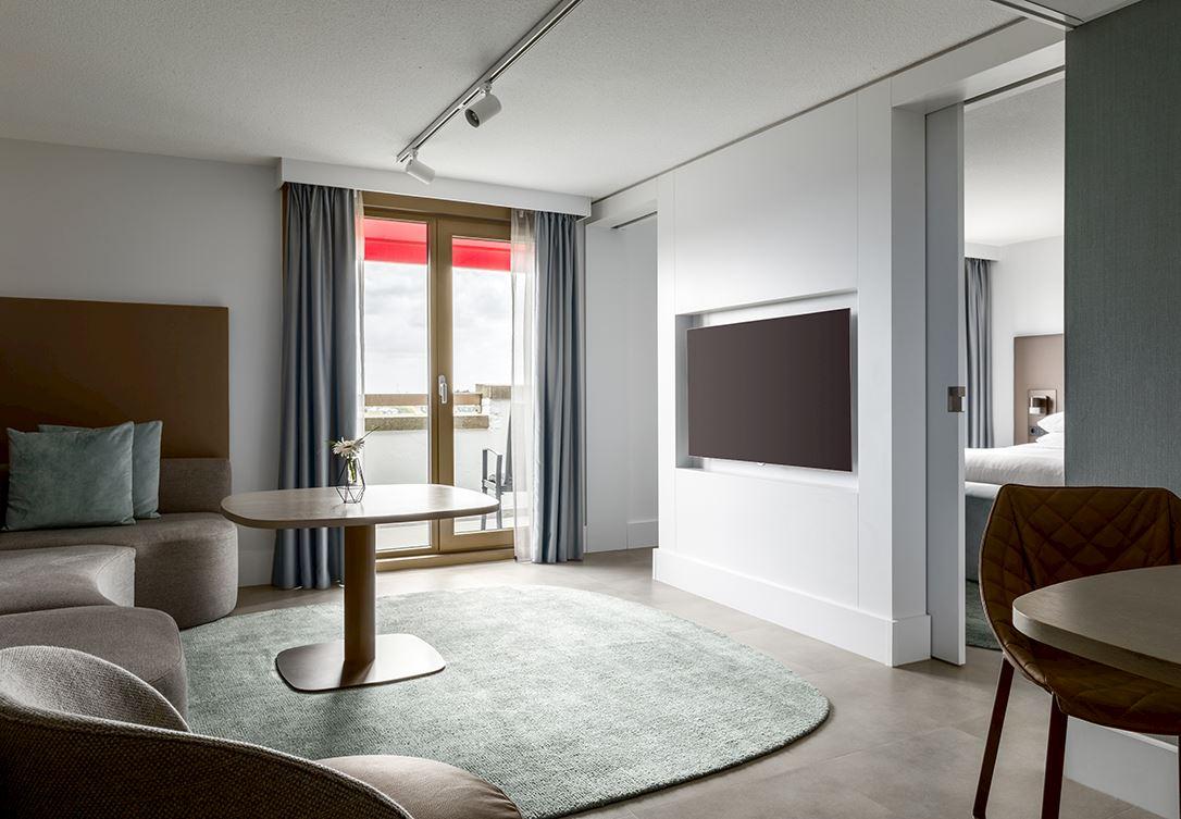 Balkon suite amsterdam marriott hotel