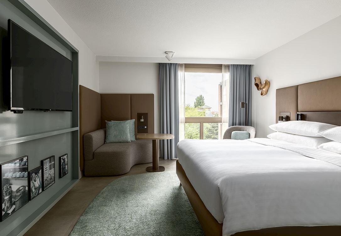 deluxe kamer Amsterdam Marriott Hotel
