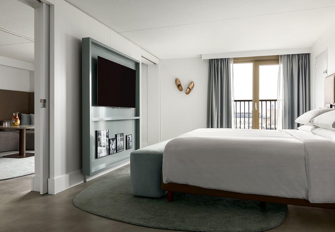 Executive suite amsterdam marriott hotel