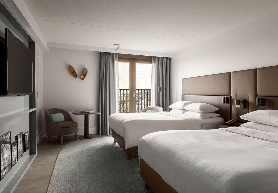 Familiekamer Amsterdam Marriott Hotel