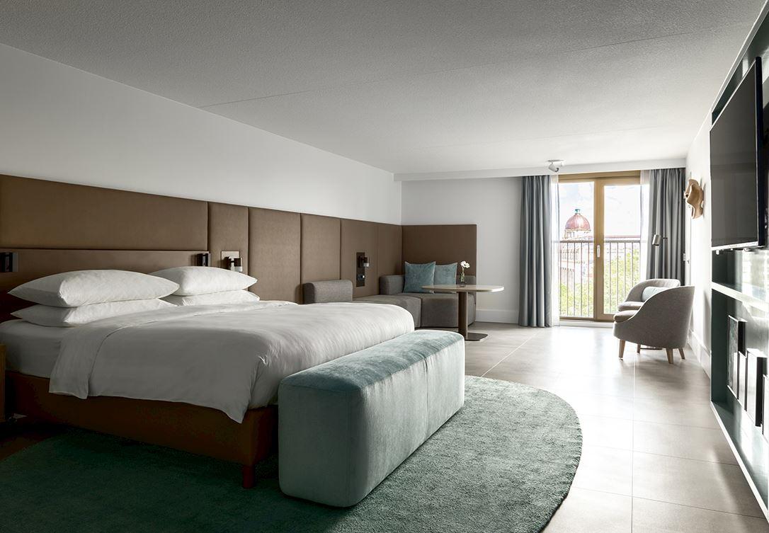 junior suite amsterdam marriott hotel